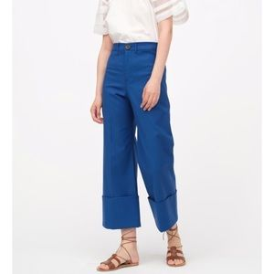 NWT Sea New York cropped cuffed trousers
